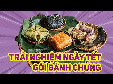 Gói Bánh Chưng và Giò cùng Nghệ Nhân Ánh Tuyết Hà Nội
