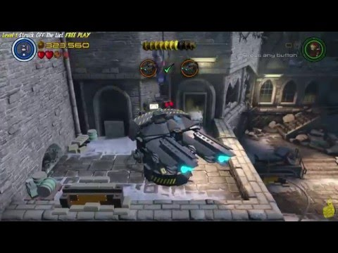 Lego Marvel Avengers: Lvl 1 / Struck Off The List FREE PLAY (All Collectibles) - HTG