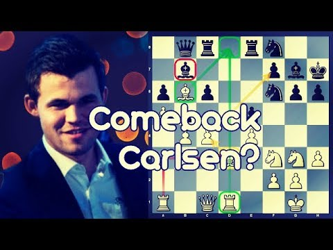 Positional Grinder time | Carlsen vs Amonatov | World Rapid Ch Rd. 10