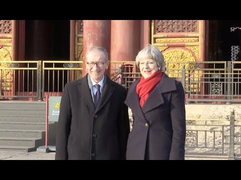 Theresa May Visit the Palace Museum in Beijing to Boost China-Britain Cultural Exchanges