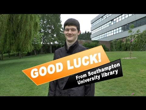 Top Tips for your academic success - University of Southampton Library