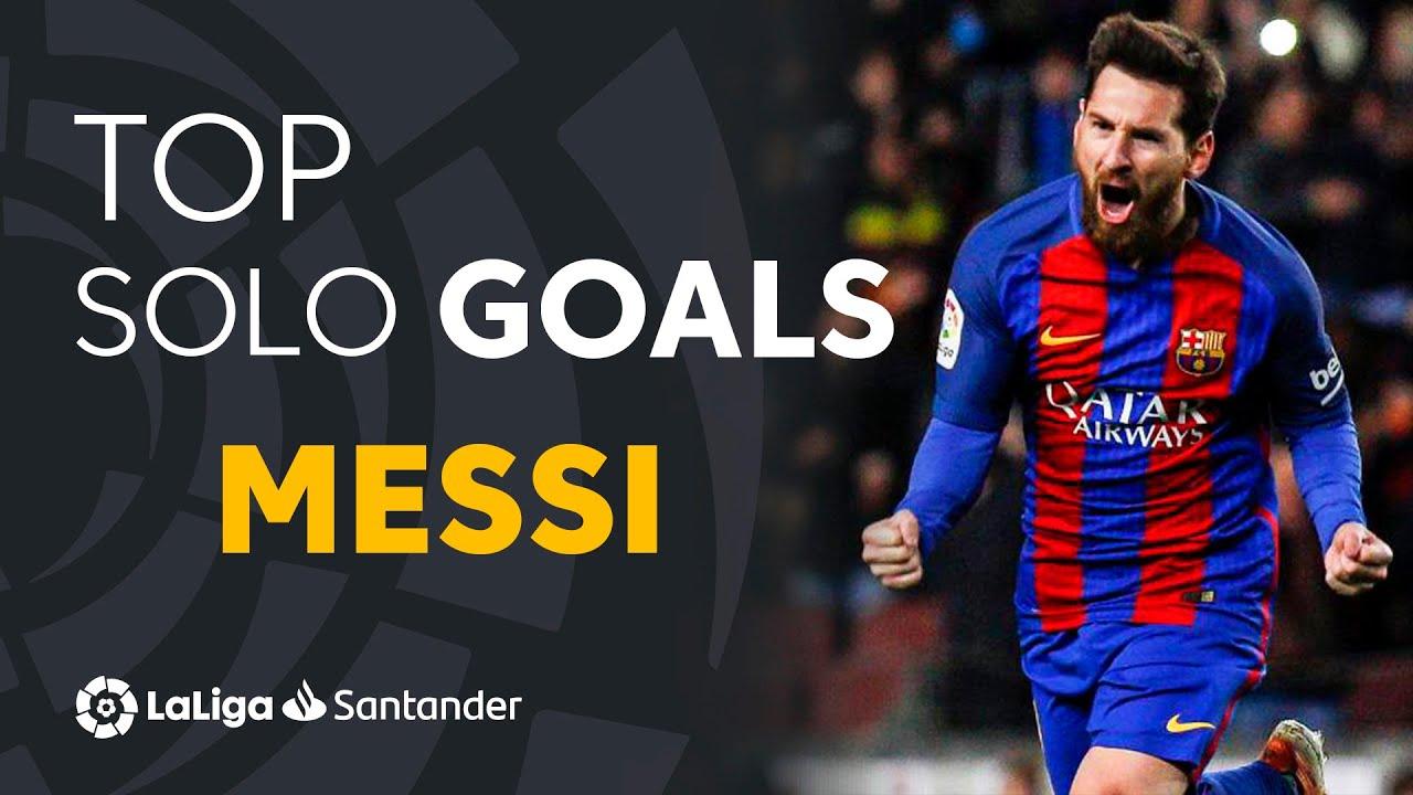 Download TOP 25 GOLES DE JUGADA INDIVIDUAL Lionel Messi LaLiga Santander