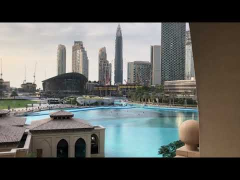 Luxury 5 star hotel Palace Downtown with Fountain view Dubai