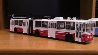 Конверсія моделі тролейбуса ЗиУ 683 SSM