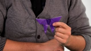 How to Make a Butterfly | Origami