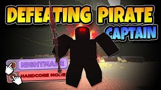 *NEW* DEFEATING THE PIRATE CAPTAIN! Roblox: Dungeon Quest