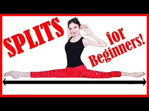 【How To: Get Your Splits FAST!】No Equipment At-Home Routine