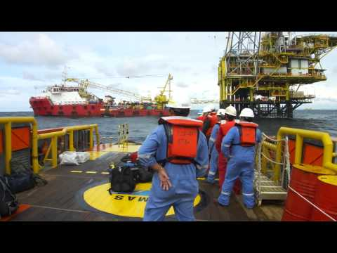 Offshore Rough Sea Boat Transfer
