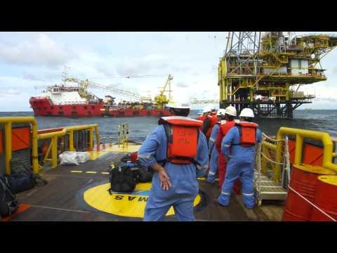 Offshore Rough Sea Boat Transfer