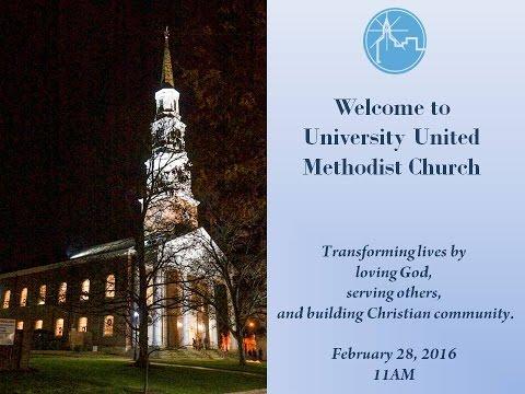 Sunday Service, February 28, 2016, 11 a.m.