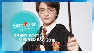 Harry Potter Opened Eurovision 2018