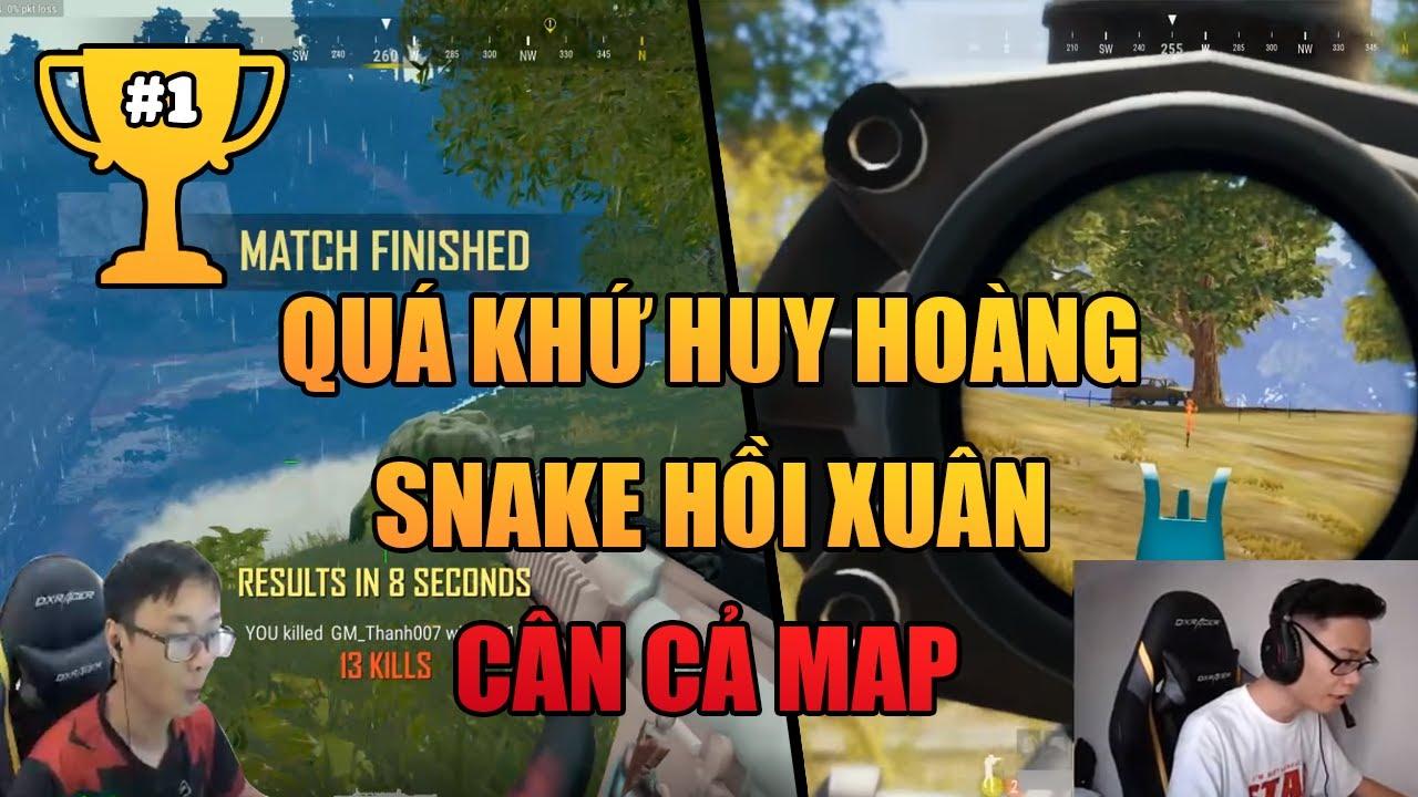 (PUBG) Snake xưa và nay, vẫn còn bén lắm
