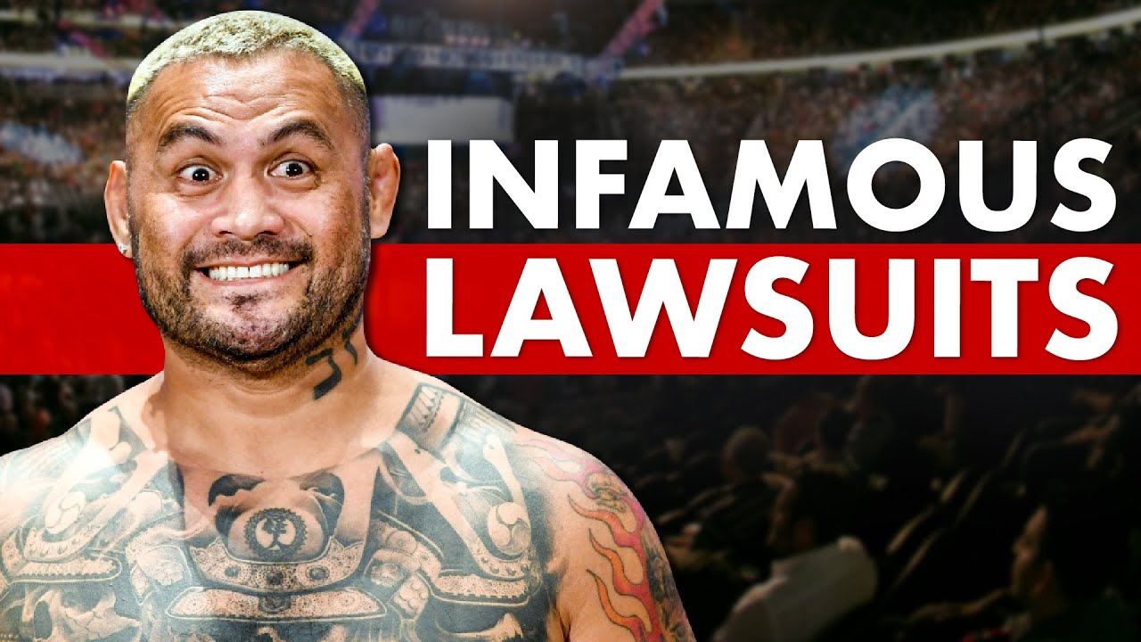 10 Most Infamous Lawsuits in MMA History