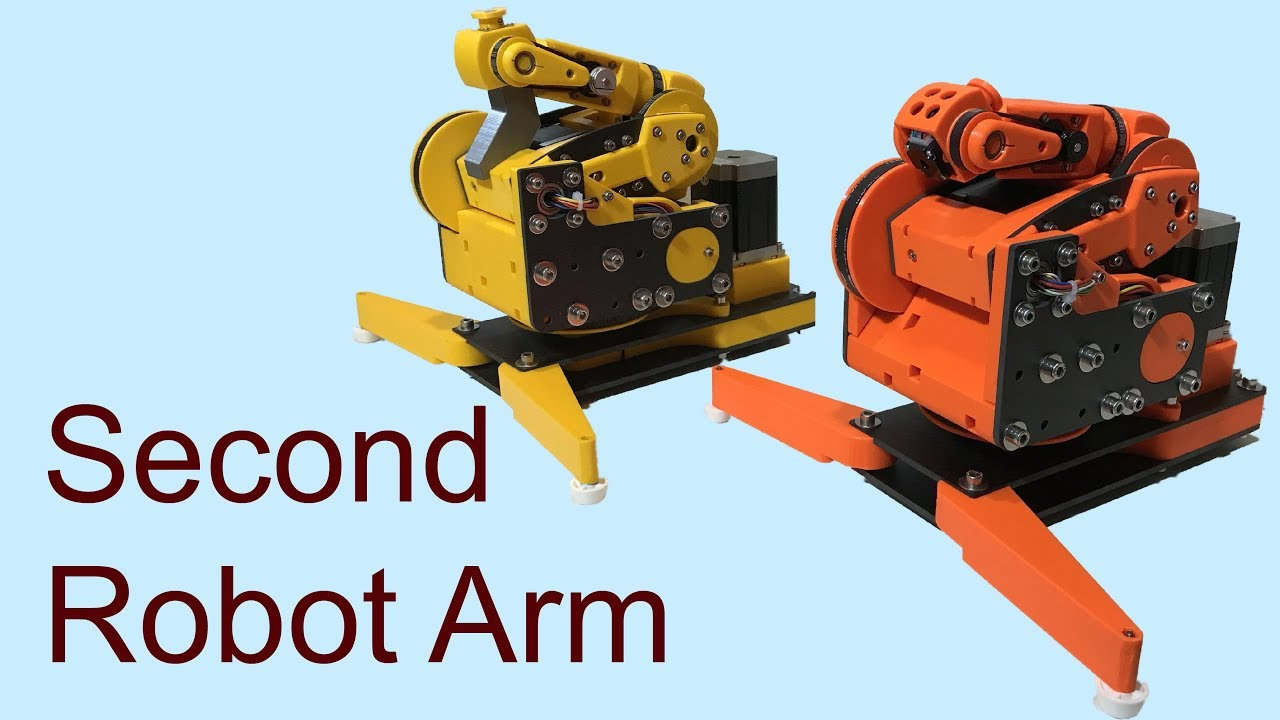 6DoF mostly 3D Printed Robot Arm (Part 4)