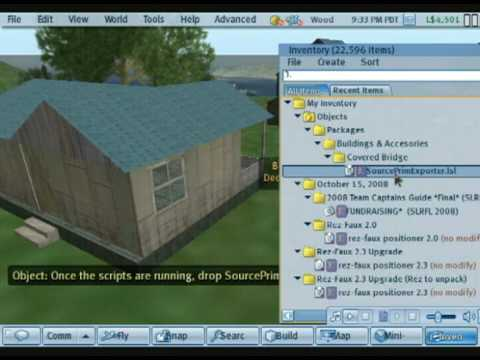 Export Second Life Objects to OpenSIM using just LSL