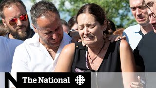 Quebec mother mourns 2 daughters; police narrow search for father