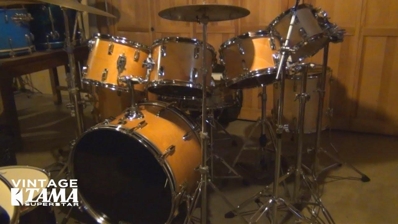 tama vintage drum set youtube. Black Bedroom Furniture Sets. Home Design Ideas