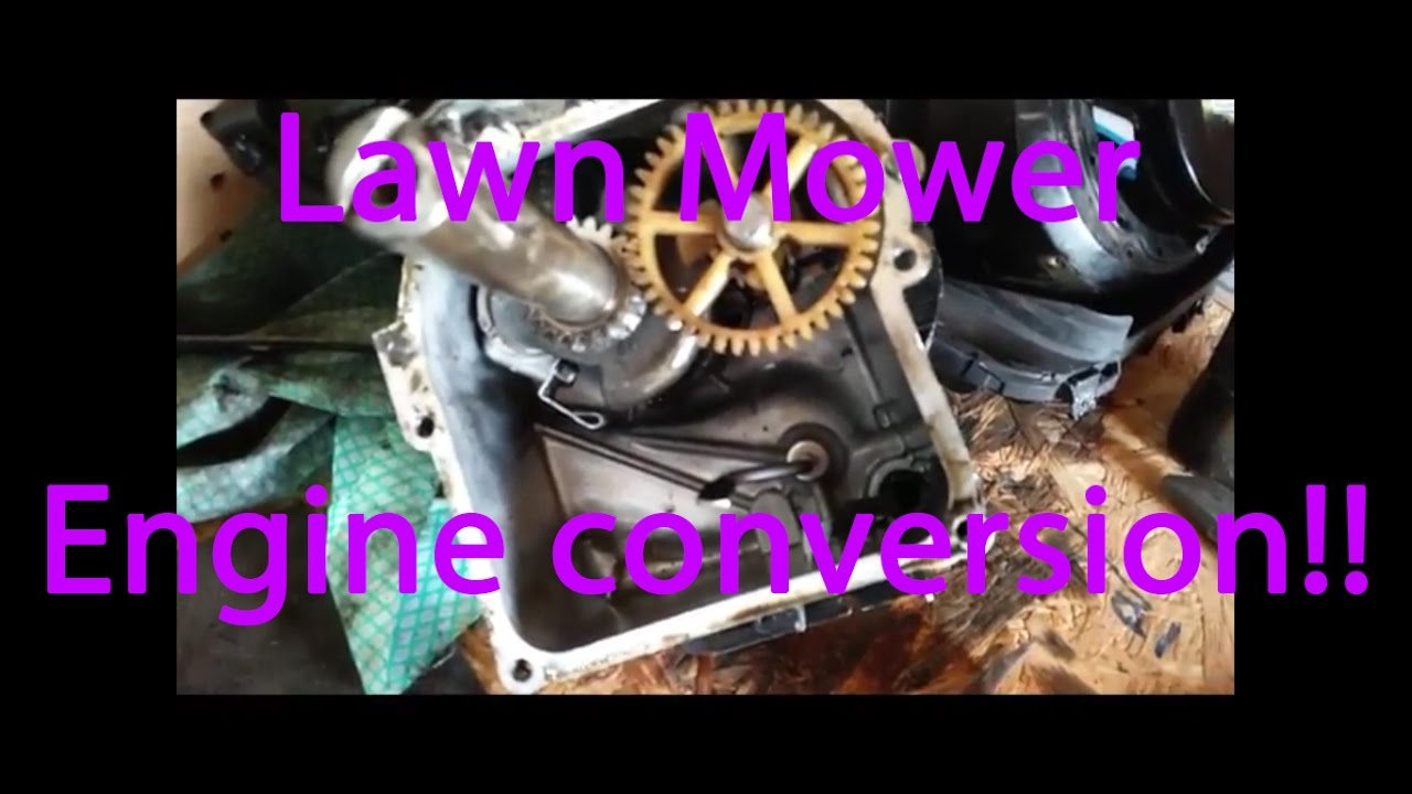 How To Make A Lawn Mower Engine Into A Go Kart Engine