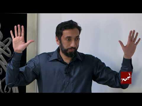 Allah Chose You - Khutbah by Nouman Ali Khan