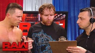 Things get tense as The A-Lister and The Lunatic Fringe run Raw for...
