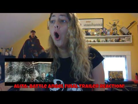 Alita: Battle Angel Official Trailer 4 (Final Trailer) REACTION!