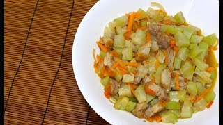 ? Ginisang Upo at Baboy - White Pumpkin with Pork Belly - Filipino Recipes
