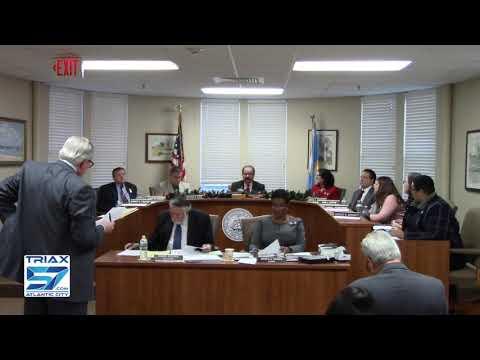 Atlantic County Freeholders Meeting  12-11-18