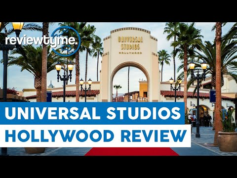 The Only Real Studio Theme Park - Universal Studios Hollywood Review | ReviewTyme