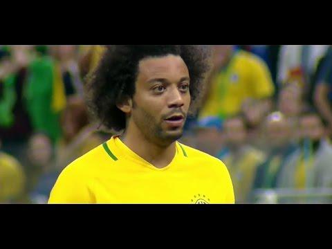 Marcelo Vieira vs Paraguay 28/03/17 HD