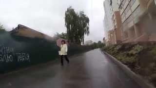 видео ремонт бампера в Киеве на Борщаговке