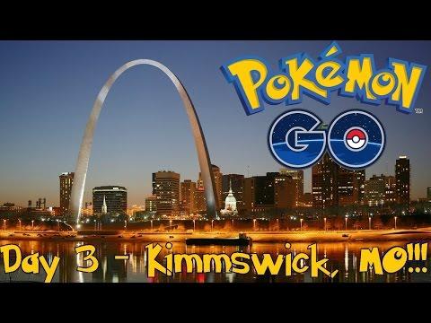 Pokemon Go - Day 3: Forrest Park, Watson Park & Kimmswick