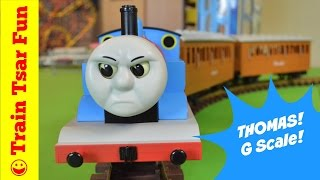 Thomas the Tank Engine Large G Scale Lionel Train With Annie & Clarabel