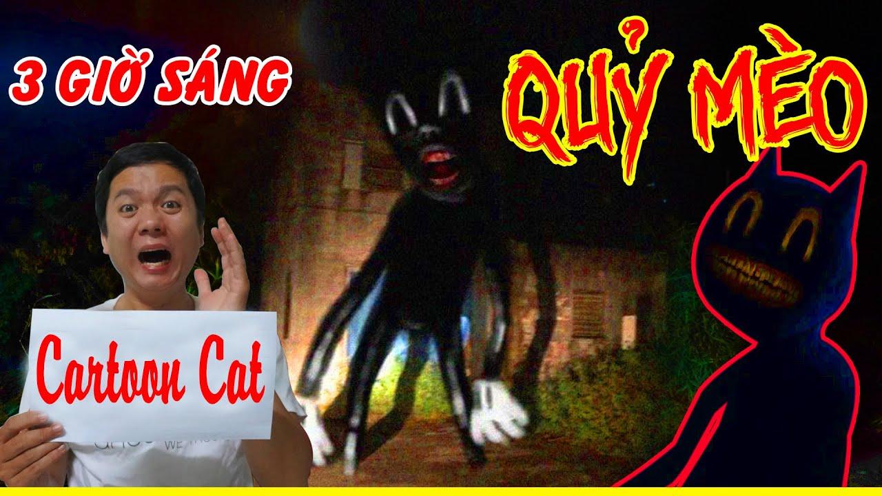 Phim Ngắn   Triệu Hồi Quỷ Mèo Cartoon Cat Vào Lúc 3 Giờ Sáng