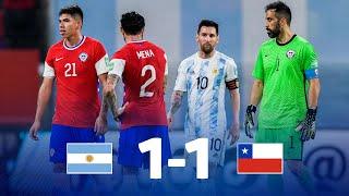 Eliminatorias Sudamericanas   Argentina vs Chile   Fecha 7
