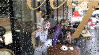 비오는날 촬영현장/항저우출장/ 상해사는쟈언니 브이로그v…