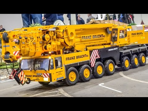 STUNNING RC Crane! RC Trucks!  Awesome Rigs!