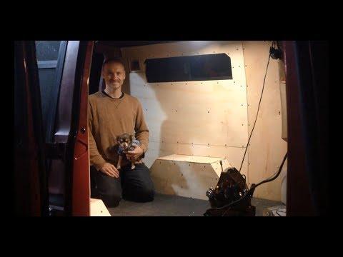 Dodge Ram Van - Camper Conversion - Part 1 (windows, floor & walls)