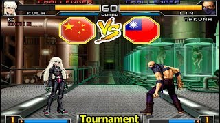 KOF 2002 UM - Xiaohai (小孩) VS 台灣 ET [18•04•2018 FT03 Round 1]
