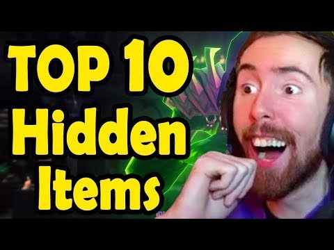 Asmongold Reacts To Top 10 SECRET ITEMS In WoW