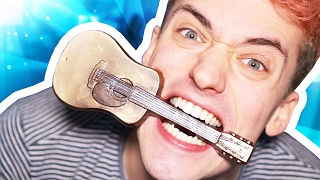 EATING A GUITAR!! INSANE CHOCOLATE!! (This Is Chocolate)