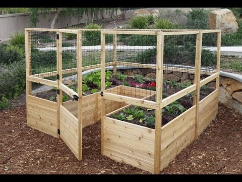 Raised Bed 8x8 Deer Fence Introduction