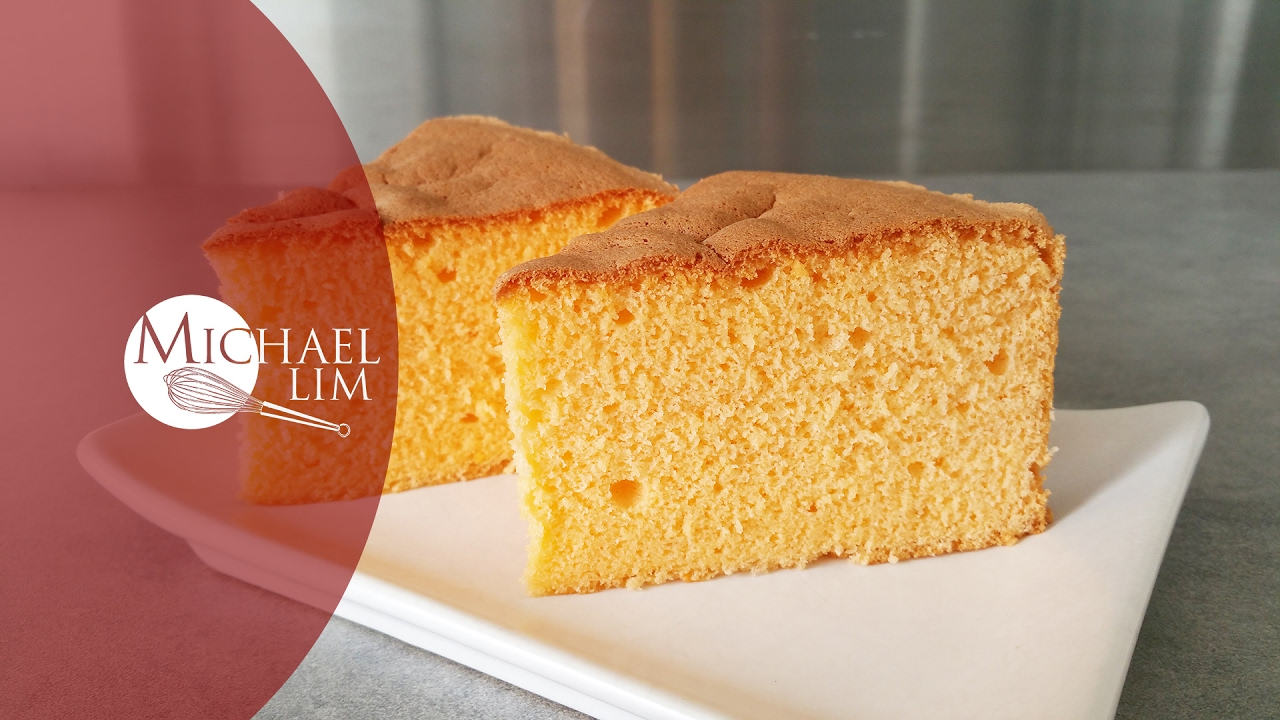 Michael Lim Orange Chiffon Cake