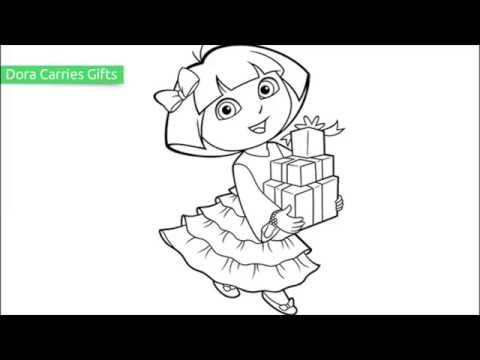 Top 25 Free Printable Dora Coloring Pages Online YouTube