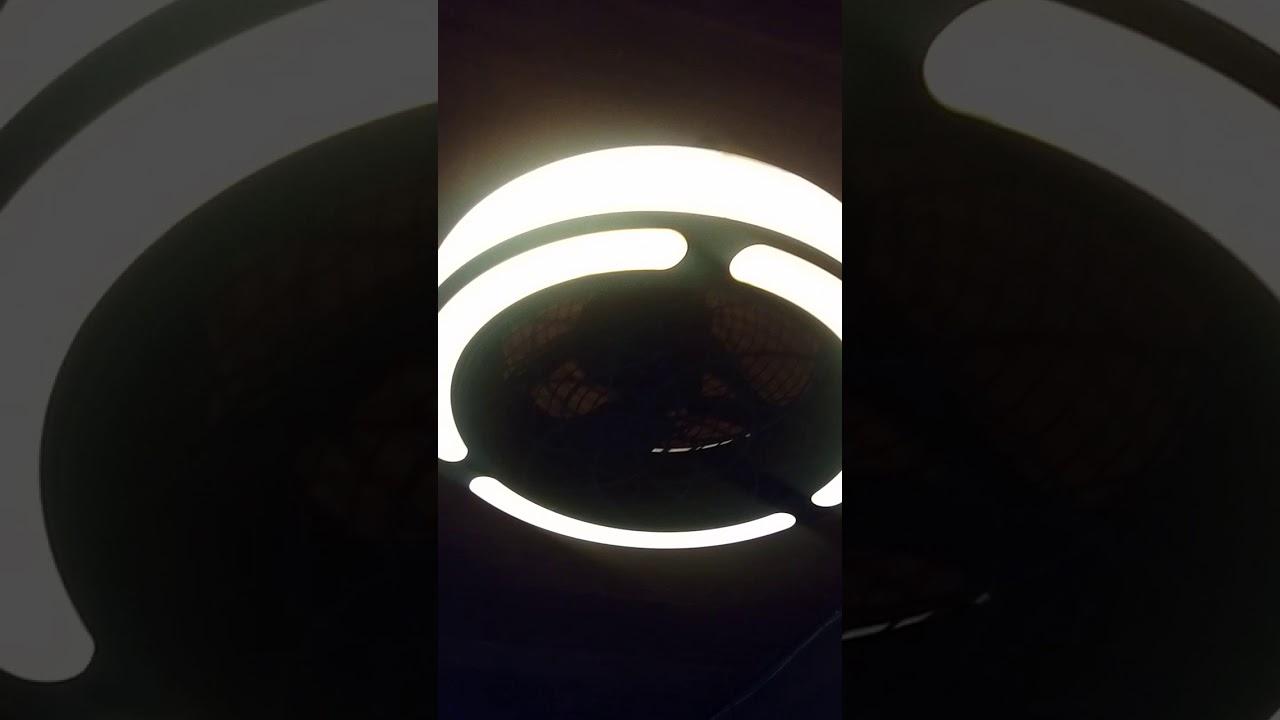 22 Inch Stile Anderson Ceiling Fan In Black Finish Youtube