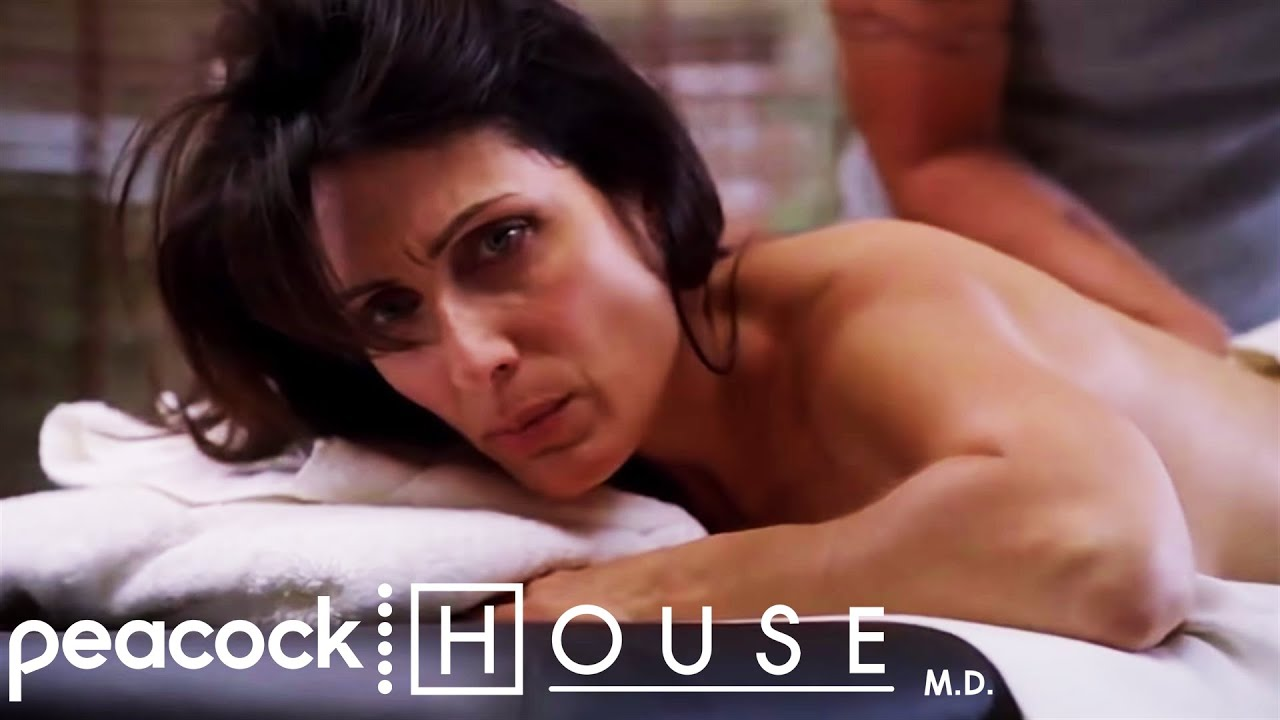 Bodybuilder getting erotic massage