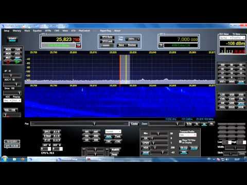 Military radar unusual activity in 11 meters shortwave (Korean crisis??)