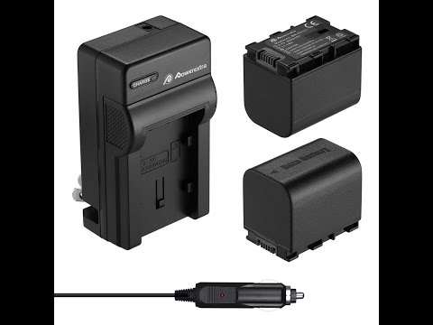 Amazon's Powerextra: Dual Battery & Charger For JVC Video Unboxing Review