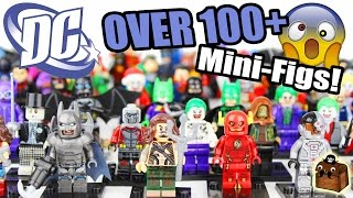 Every LEGO DC Minifigure Collection 2017
