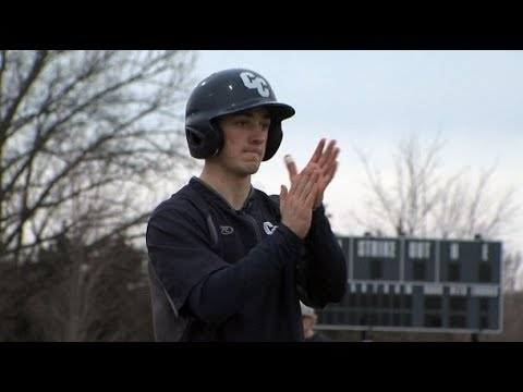 Columbia College baseball player inspires team with remarkable resilience