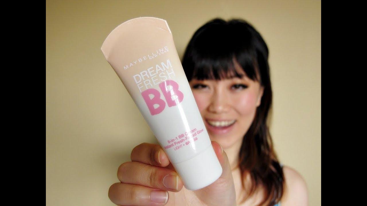 Review Maybelline Dream Fresh Bb Cream Youtube